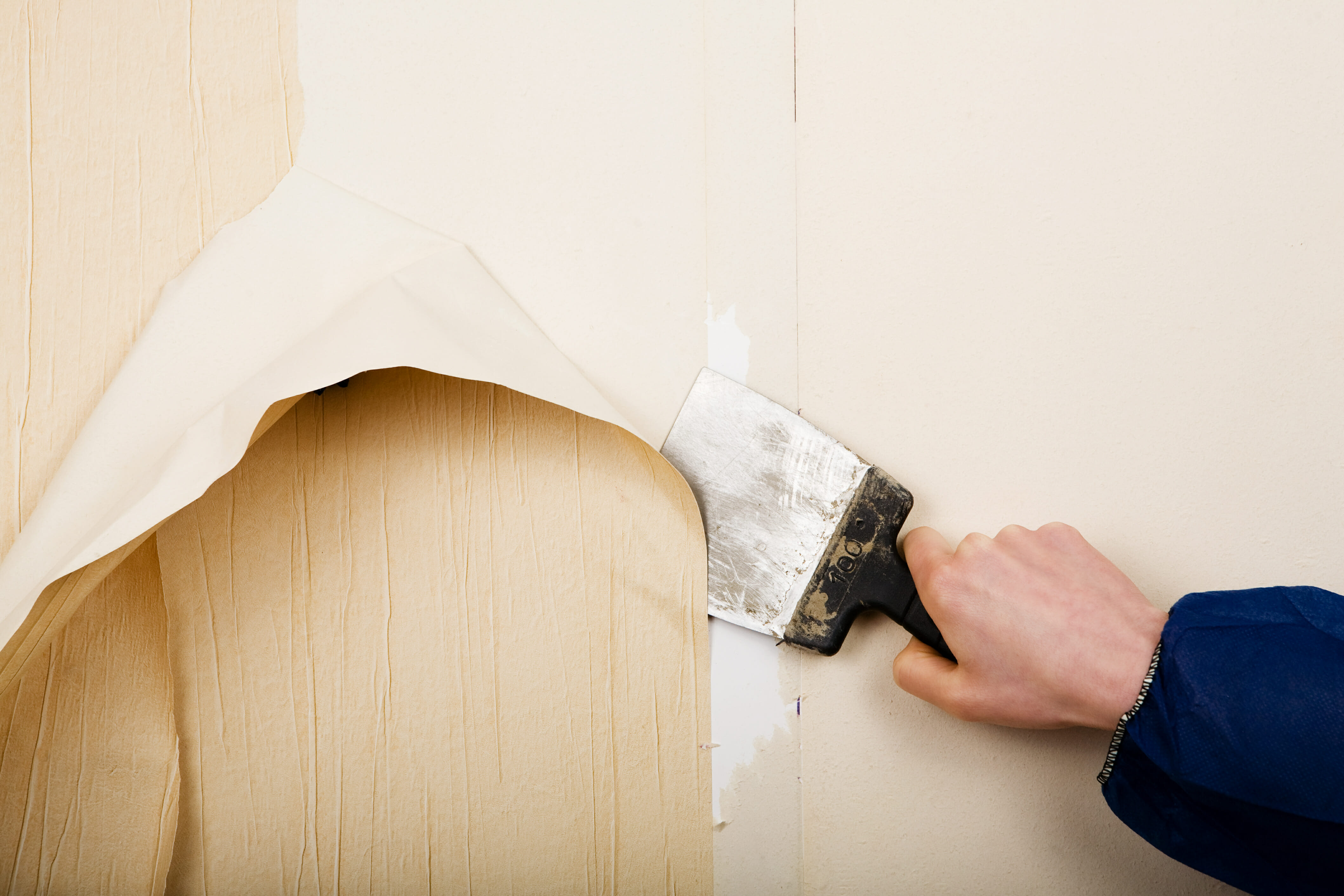 Stripping wallpaper the easy way (if there is such a thing!)