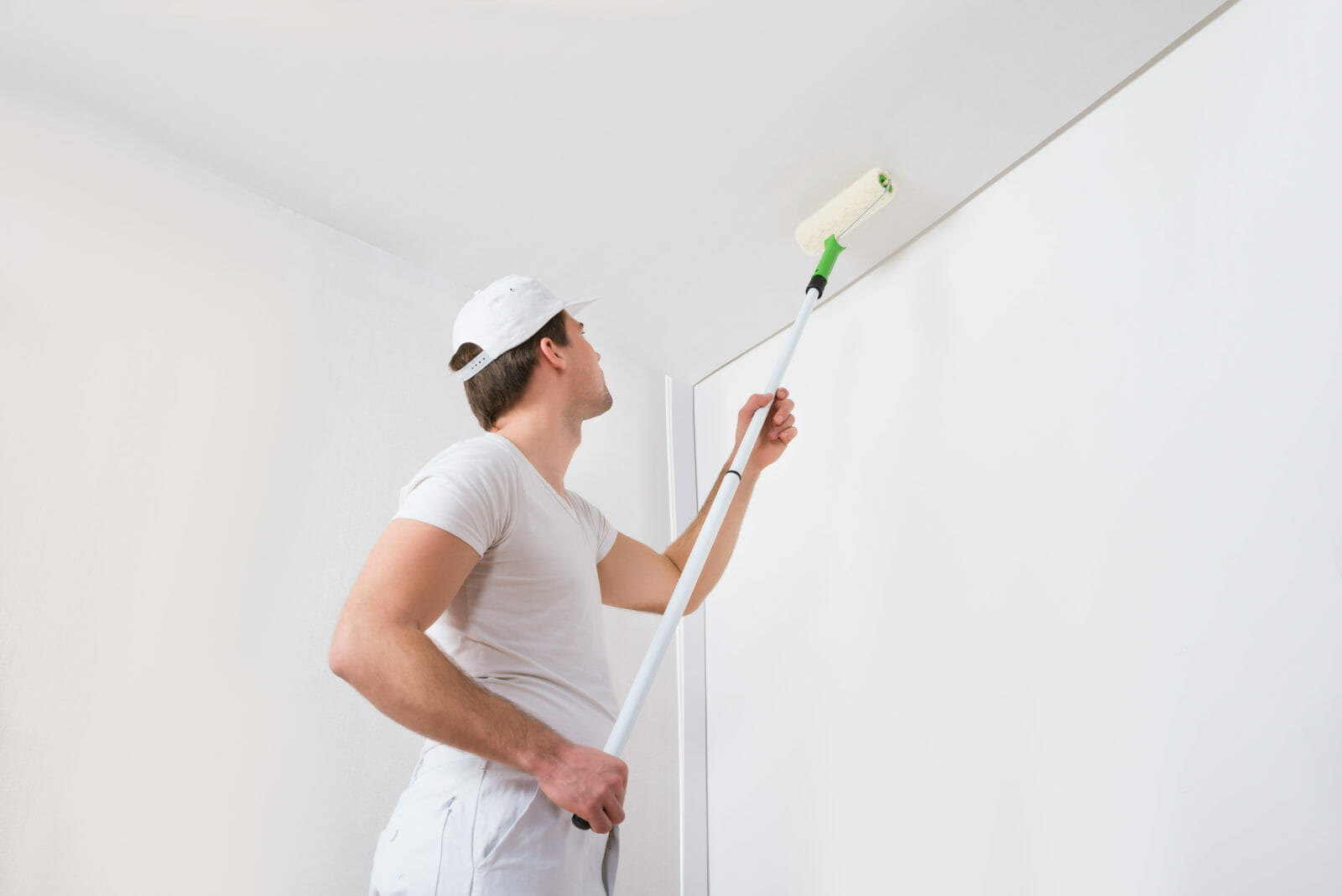 Painting a ceiling like a pro
