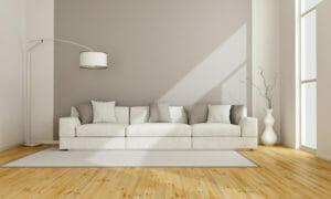 example of minimalist interior design in living room